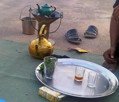 le thé au petit protocole