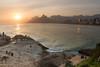 Sunset over Ipanema by Luke Robinson