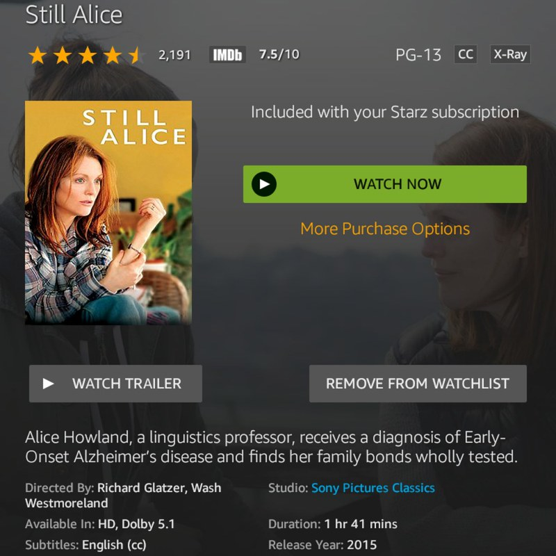 Still Alice 2015: 10 Great movies that you need to watch and celebrate New Year's Eve