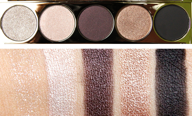 IsaDora golden edition palette swatch