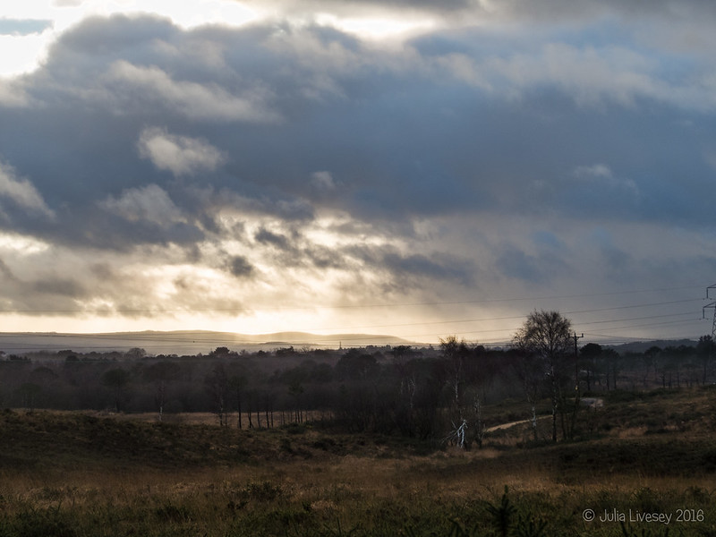 Stormy skies over Arne