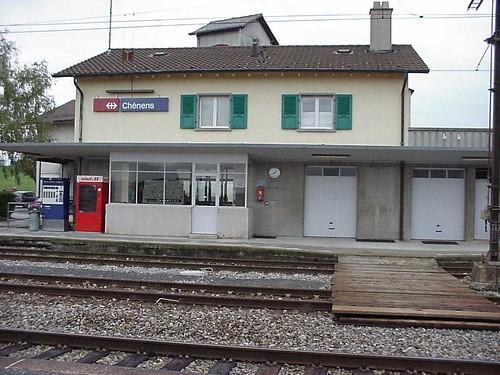 Bahnhof Chénens