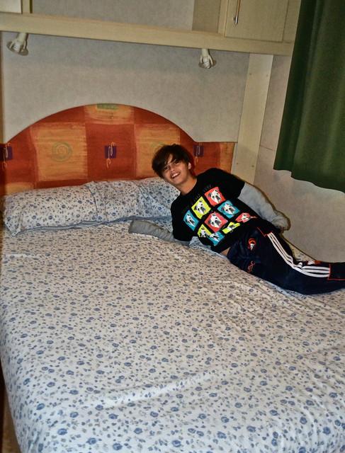 master bedroom, siurana camping