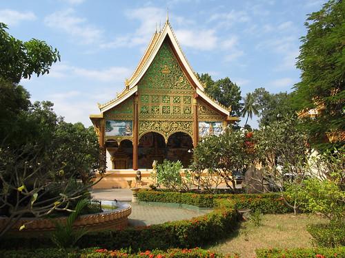 Vientiane: le temple Vat Inpeng