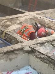 East Side Access Floor Demolition