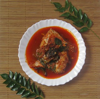 Kilimeen/ Pink Perch fish mulaku curry