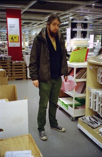 Bert at IKEA