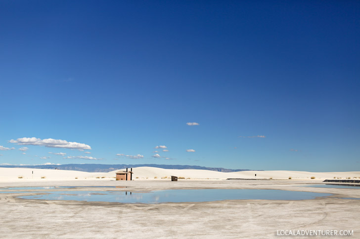 White Sands National Monument - one of the world's greatest natural wonders located an hour outside Las Cruces New Mexico.