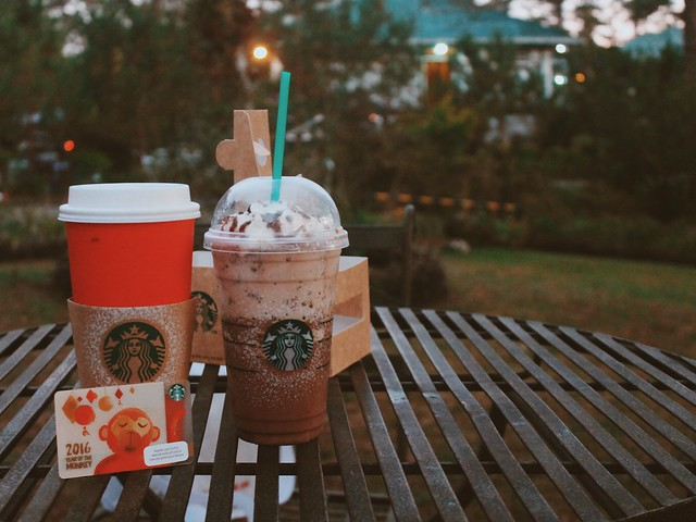 Starbucks Baguio and Baguio Christmas Village