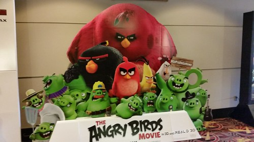 Angry Birds Movie Standee