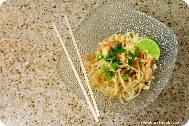 Sunbasket: Shrimp Pad Thai