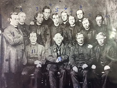 Group of priests, c September 1866.