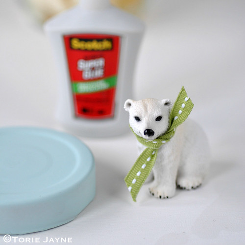 Polar bear jar tutorial