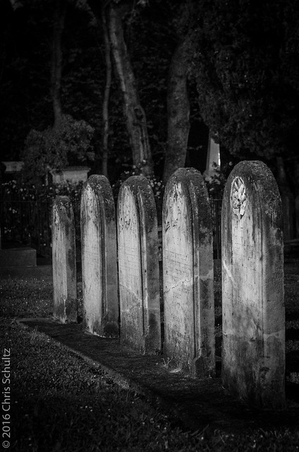 Headstone Row, Pentax K-5, Sigma