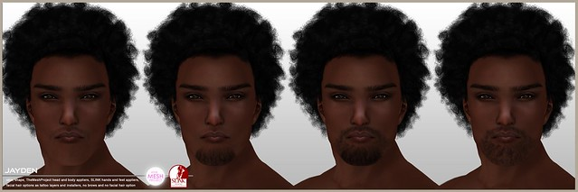 [DBF] Jayden skin facial hair options
