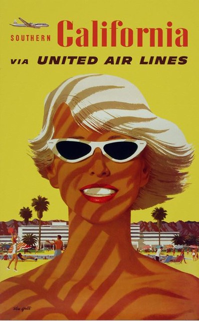 Southern California ~ Vintage Travel Ad Poster