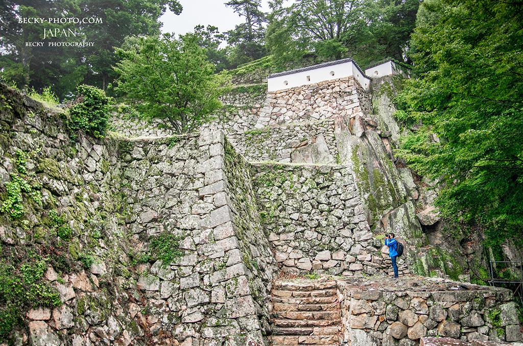 備中松山城(びっちゅうまつやまじょう), 岡山県高梁市