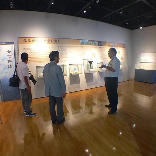 取材ちう #japan #Japanese #Cloisonne #Museum #七宝焼  #Coverage