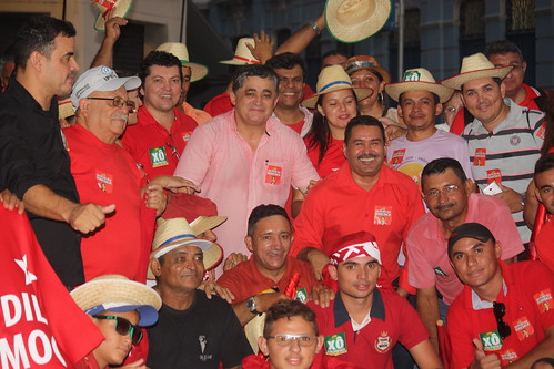 Ato em defesa da democracia em Fortaleza