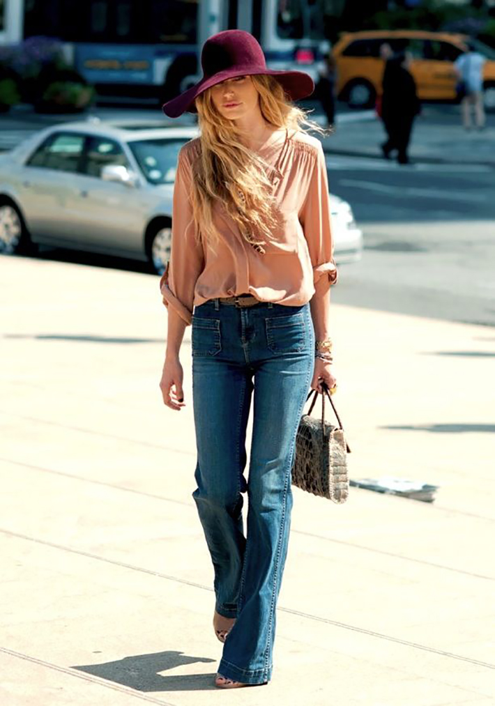 Seventies Inspiration Streetstyle Outfit Fashion 2
