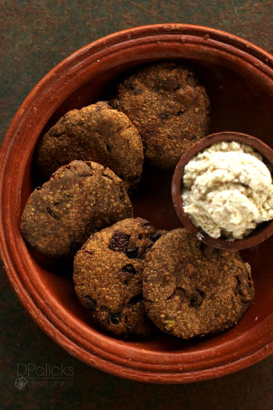 ragi vadai recipe