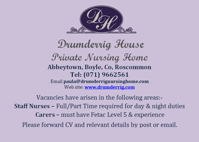 Drumderrig House Private Nursing Home