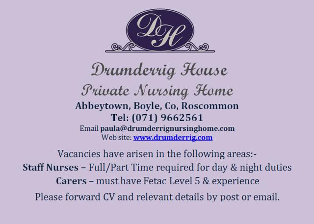 Drumderrig House Private Nursing Home