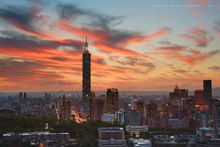 Taipei City at Sunset, Taiwan │ September 8, 2015