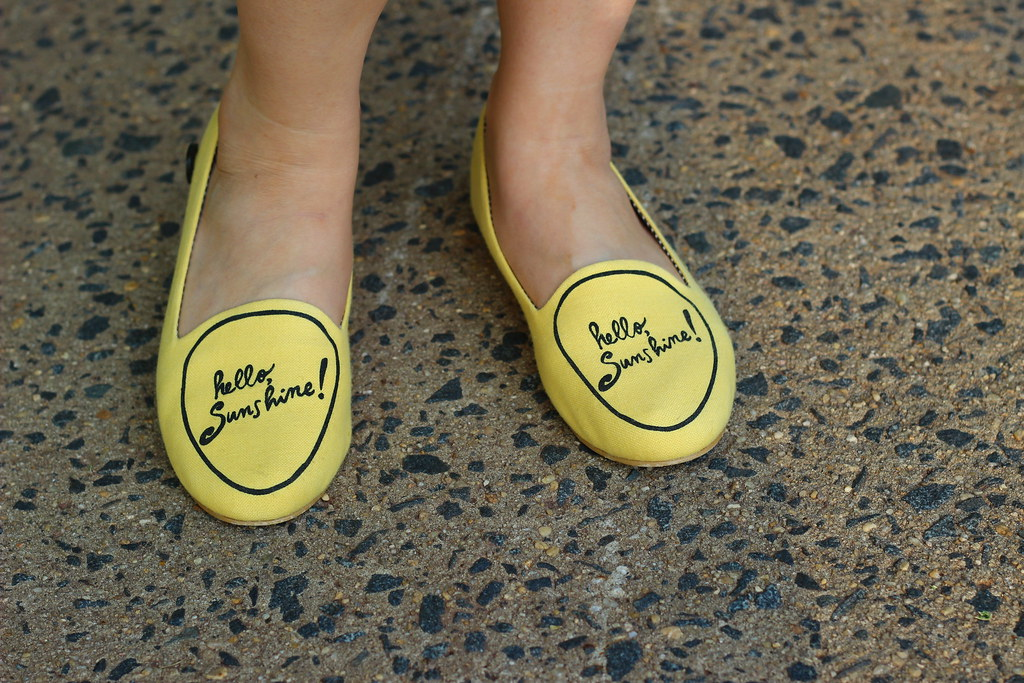 Modcloth Hello Sunshine Loafers