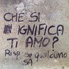 Amori incendiari #amorisuimuri #lodiconoimuri