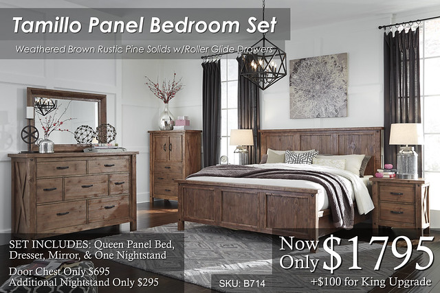 Tamillo Panel Bedroom B714