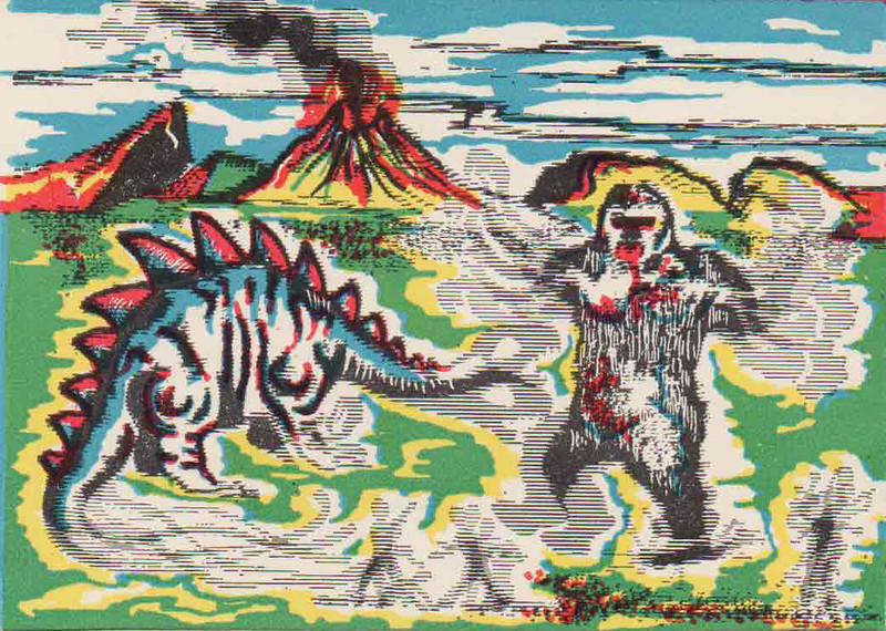 Monster Magic Action Trading Cards (1963) 22