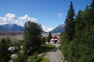 143 Uitzicht Kennicott Glacier Lodge