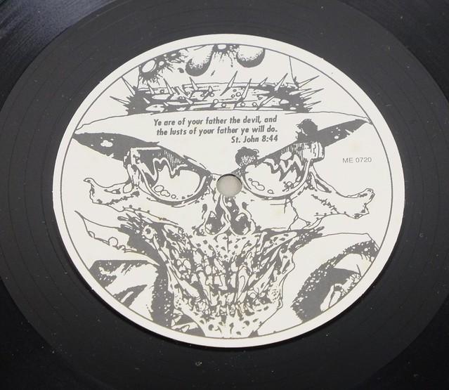 "DANZIG UNOFFICIAL FEAT METALLICA ME 0719 12"" MAXI- LP VINYL"