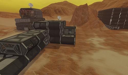 Hanna's Martian Colony