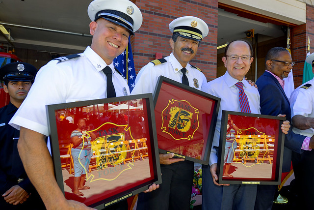 Dedication of LAFD Station No. 15 10-10-15