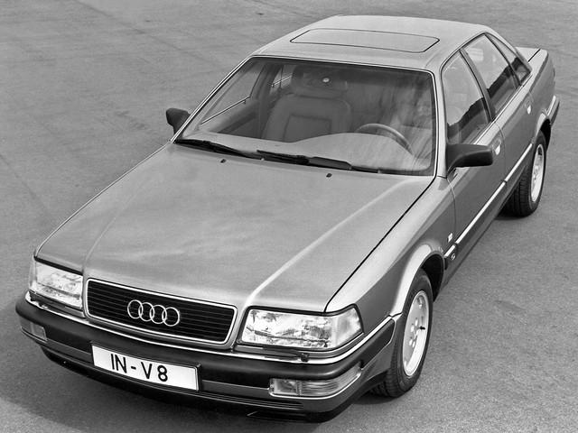 Седан Audi V8. 1988 – 1994 годы