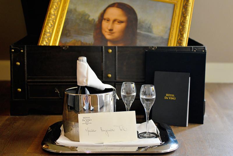 Hotel Da Vinci Paris Typicalben
