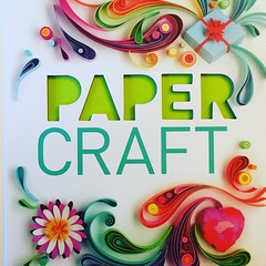 I win this beeeeautiful paper crafting book from @molliemakes and oh gosh I'm in love :heart_eyes: #papercraft #craft