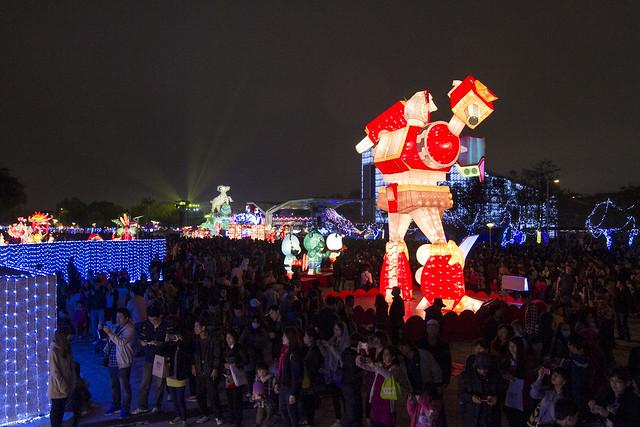 Lantern Festval at Taipei Expo Park