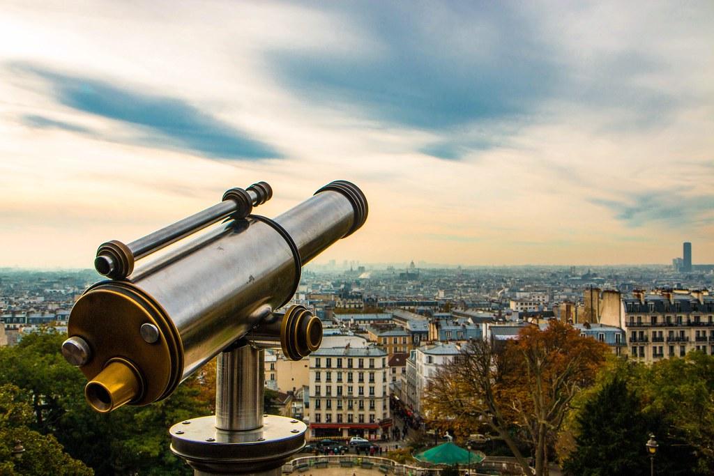Watching Paris.
