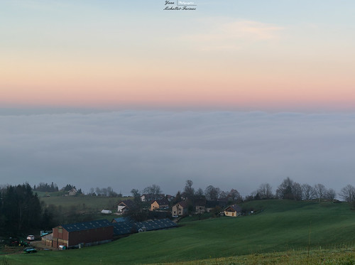 The hamlet over the clouds