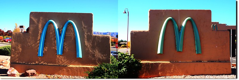 McDonalds' sign, Sedona