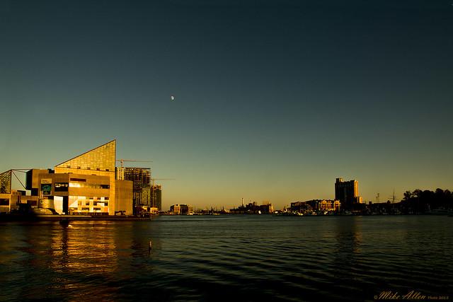 Sunset in the Inner Harbor