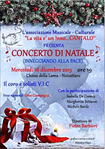 Noicattaro. Concerto di Natale intero