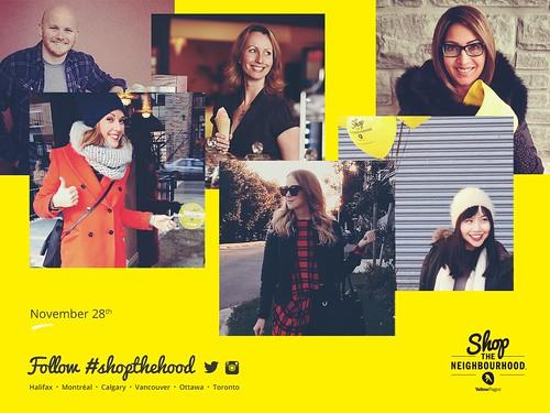 Me! And the other Shop the Neighbourhood ambassadors