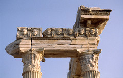 Side, resten van een Romeinse tempel, Turkije 1996