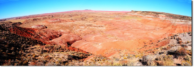 Painted Desert Panorama From Lacey Point