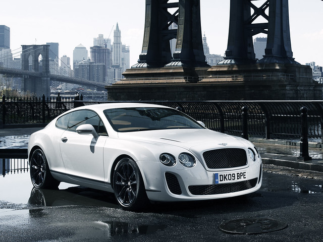 Bentley Continental Supersports 2009 года