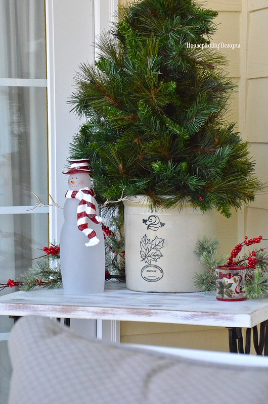 Upper Back Porch/Christmas 2015 - Housepitality Designs